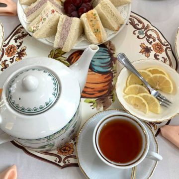 The Centreville Cafe in Wilmington offers a four-course, full service afternoon tea 7 days a week.