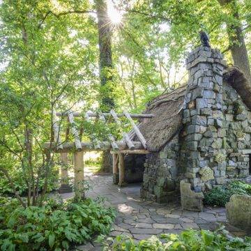 Faerie Cottage in the Enchanted Woods at Winterthur Museum, Gardens, and  Library, Winterthur, DE.