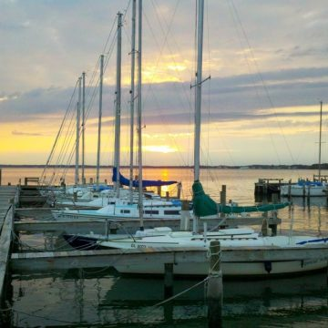 Rehoboth Bay Sailing Association offers sailboat rentals & sailing lessons in Dewey Beach, DE, a leisurely 45 minute drive.