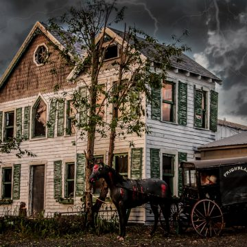 Frightland! Whether you're young or just young at heart, everyone will enjoy this year round attraction in Middletown, DE.